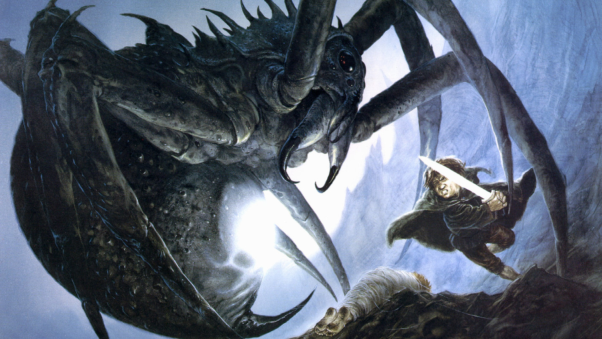 J R R Tolkien The Lord Of The Rings Shelob Samwise Gamgee 1920x1080