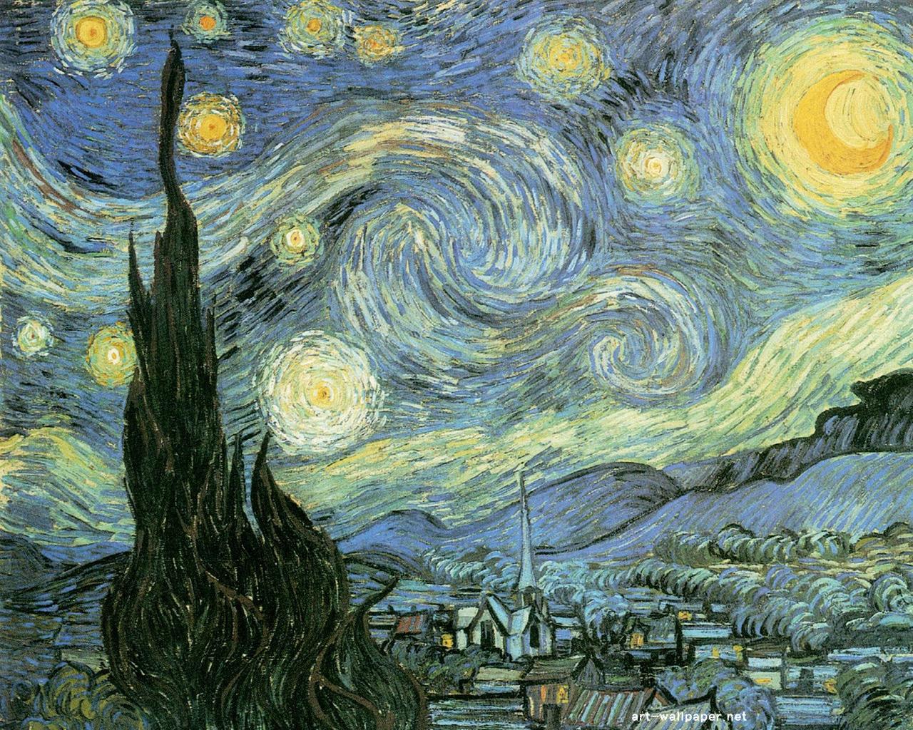 Vincent van Gogh Wallpaper Painting Wallpaper 1280x1024