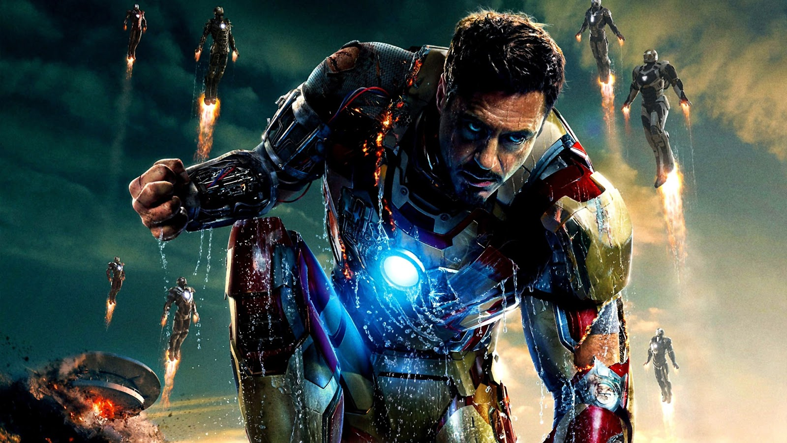 Iron Man Wallpapers Hd Free Download: Iron Man HD Wallpapers 1080p