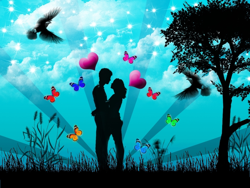 Free Download Lovers Love Wallpaper 8964894 1024x768 For Your