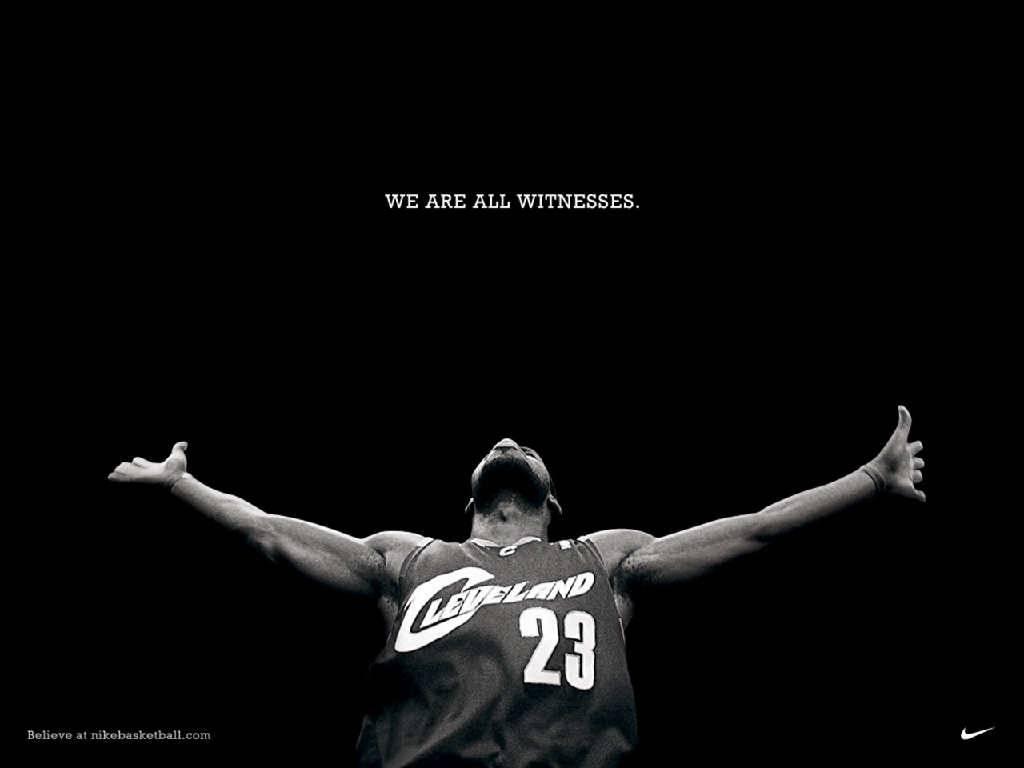 LeBron James Witness Wallpaper   Cleveland Cavaliers Wallpaper 1024x768