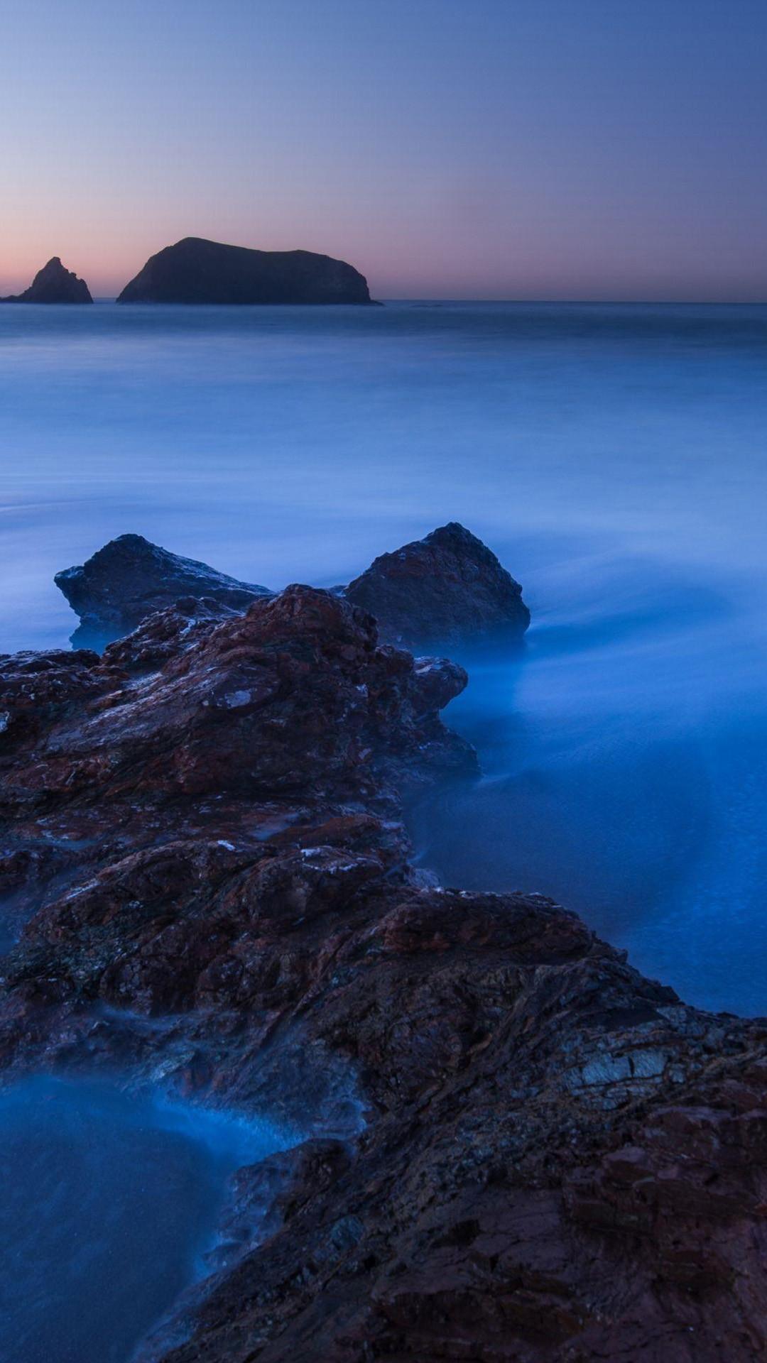 Beach sunset HD samsung galaxy s4 wallpaper 1080x1920