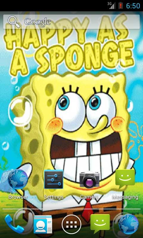 Wallpaper Hp Android Spongebob Best Hd Wallpaper