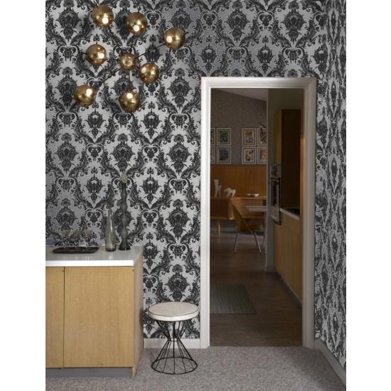 Tempaper Damsel Temporary Wallpaper   Wallpaper   Wall Art   Category 550x550