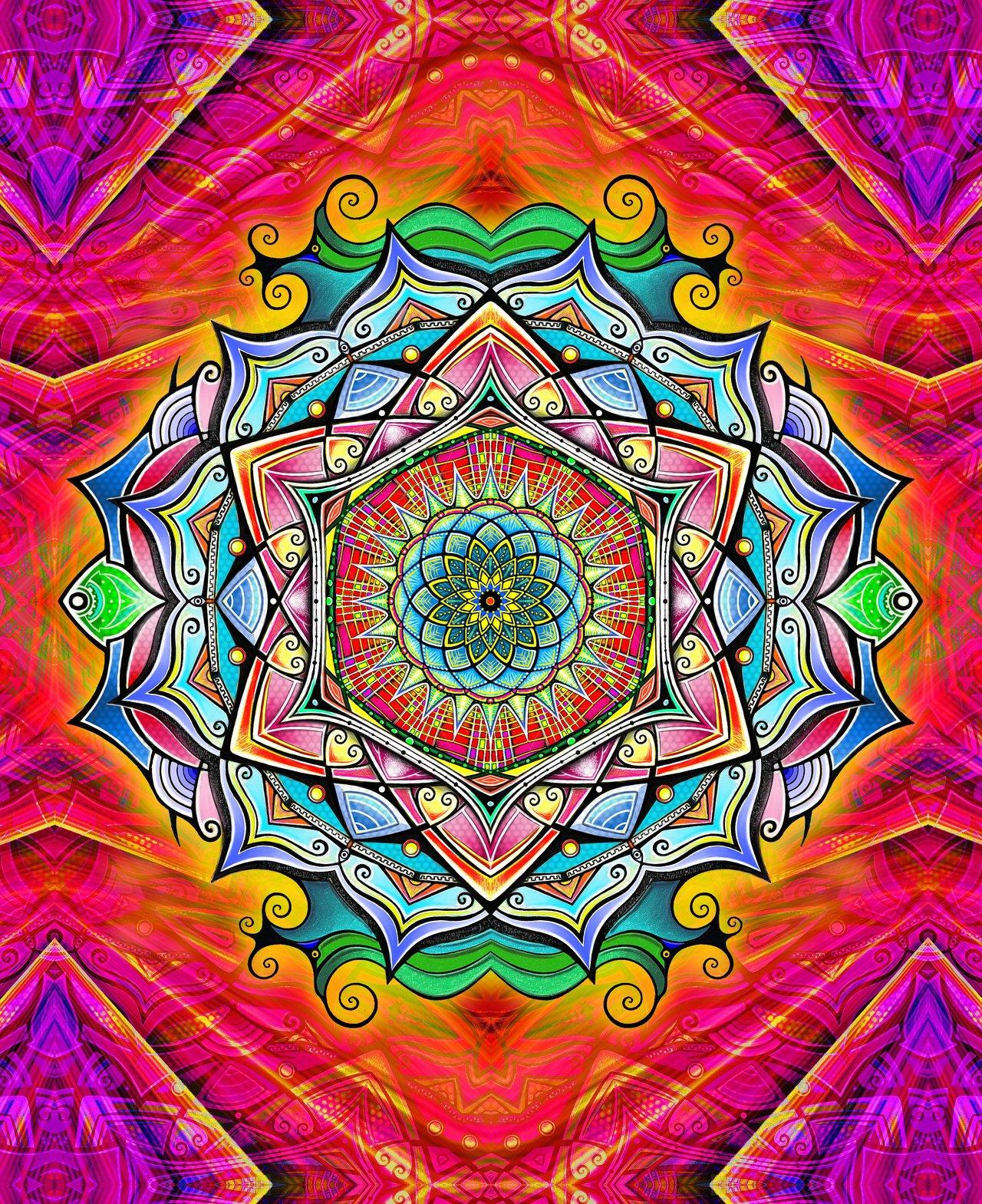 Mandala Wallpaper Desktop  WallpaperSafari