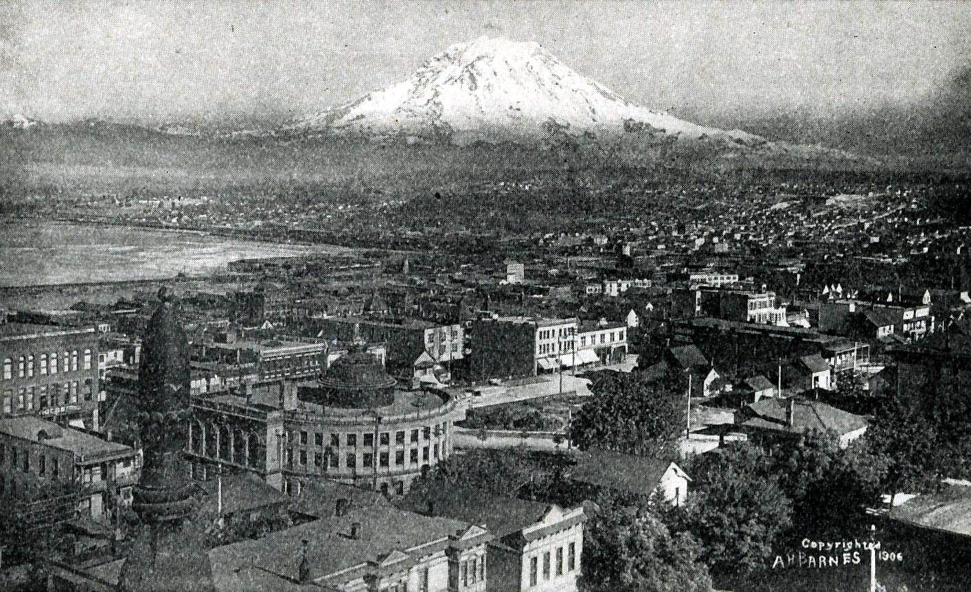 Tacoma WA picture Tacoma2C Washington 1914 jpg 1414x862