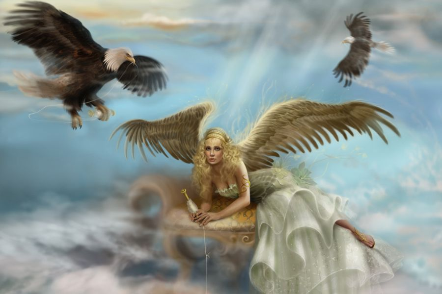 Angel Guardian The Guardian Angel wallpaper download 900x600