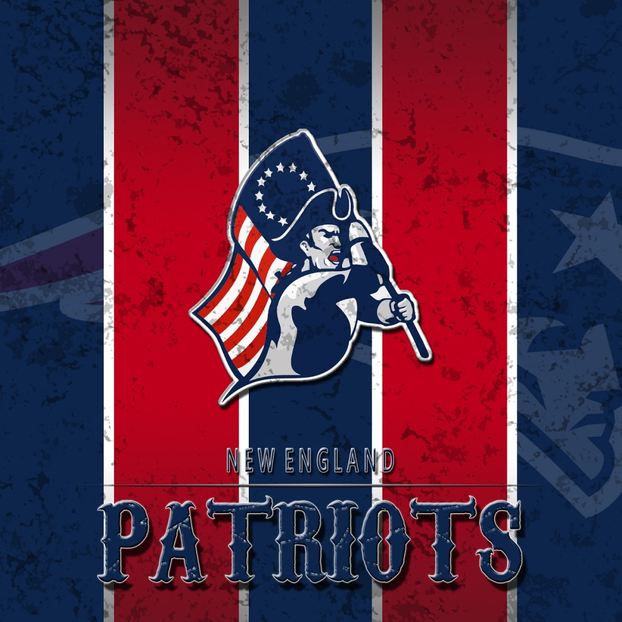 Patriots Logo Wallpaper: 2015 Patriots Champions Wallpaper