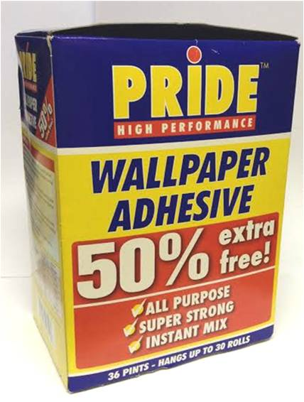 Wallpaper Paste Glue Adhesive All Purpose Super Strong Instant Mix 428x566