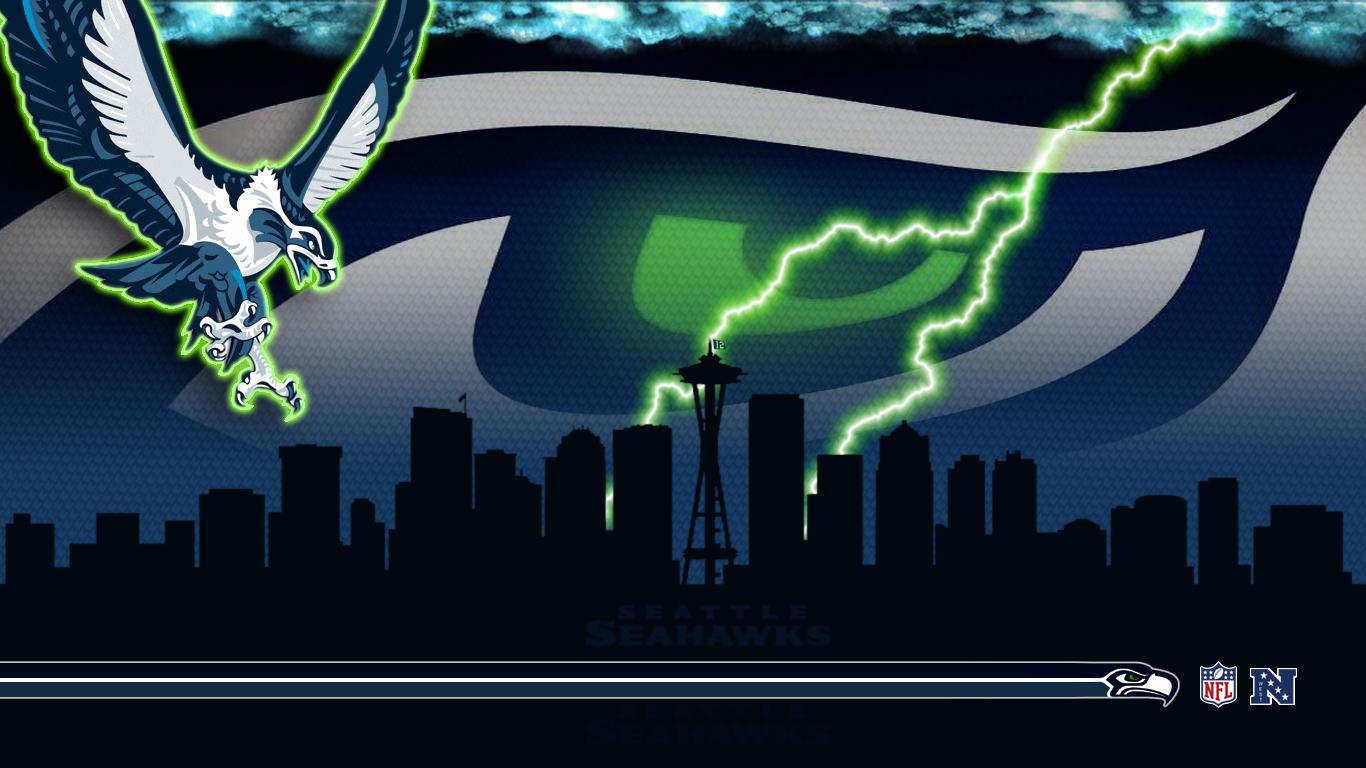 Seahawks 2013 by PyroDark 1366x768