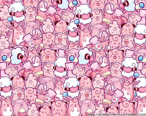 cute kawaii pink pokemon wallpaper   inspiring picture on 500x400