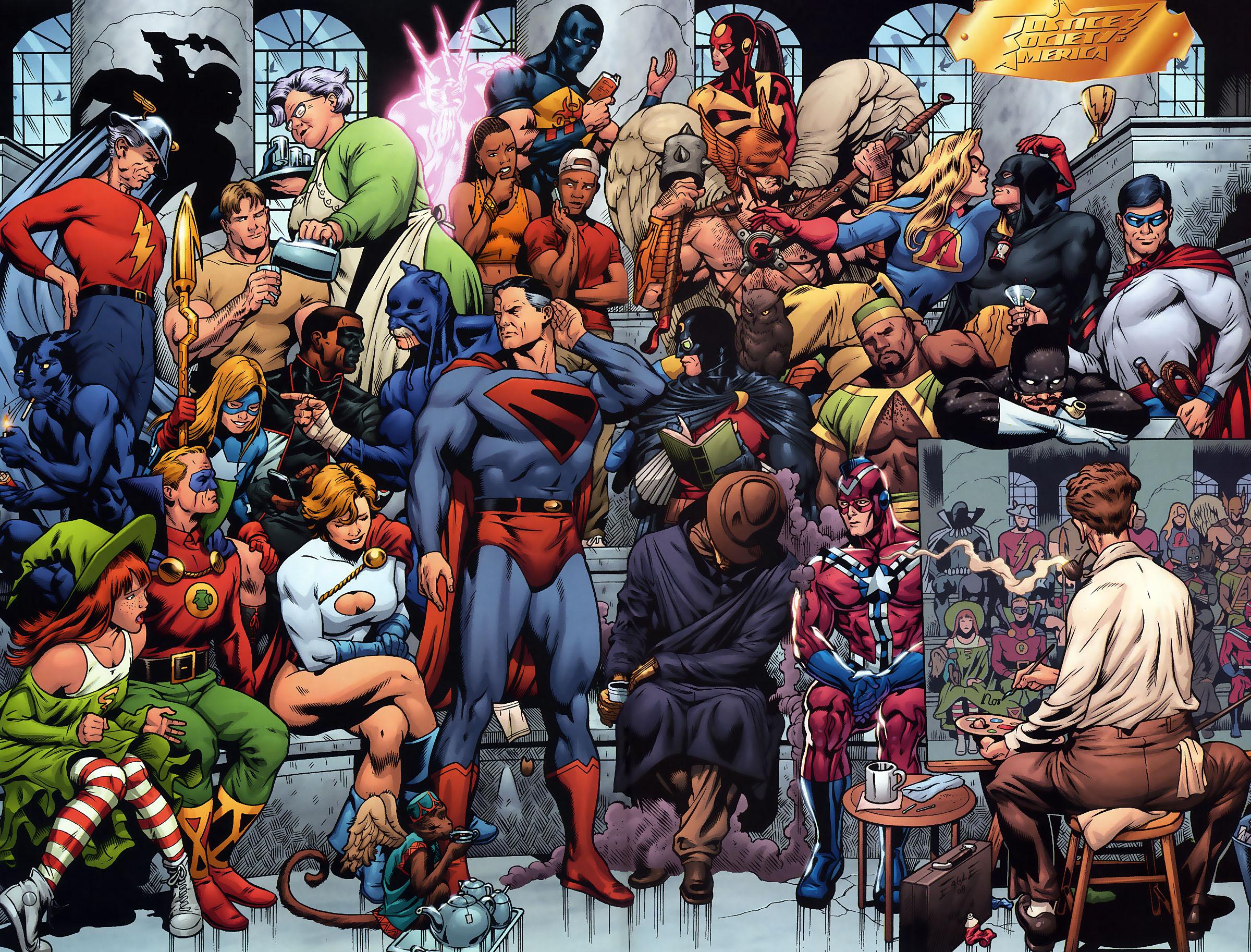 DC Comics Wallpaper 2400x1826 DC Comics Comics Superman 2400x1826