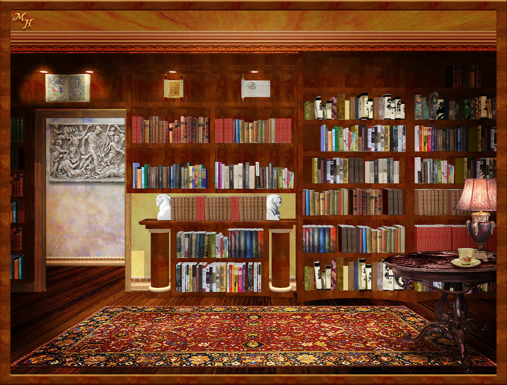 Library Background Image - WallpaperSafari
