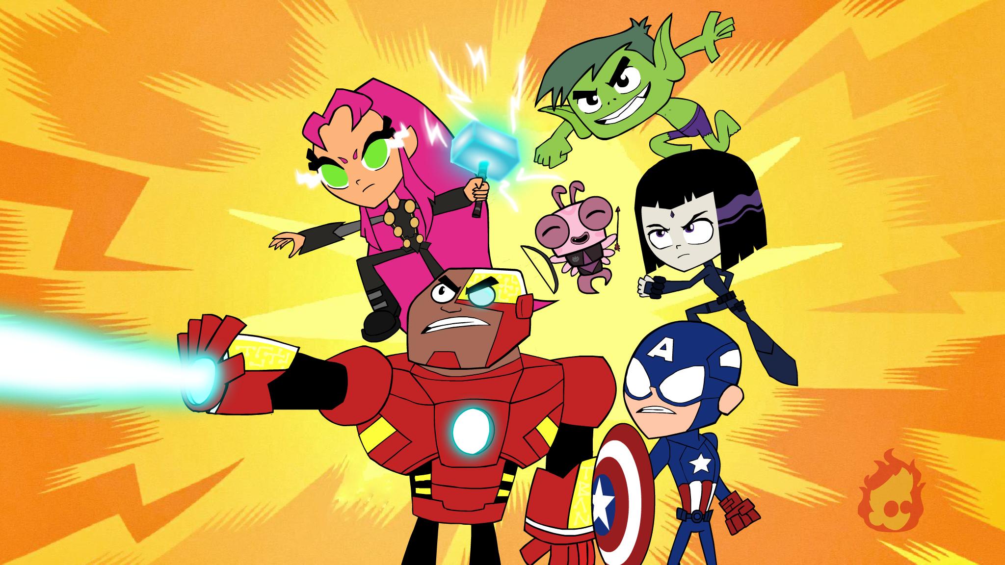 [31+] Teen Titans Go! Wallpapers on WallpaperSafari