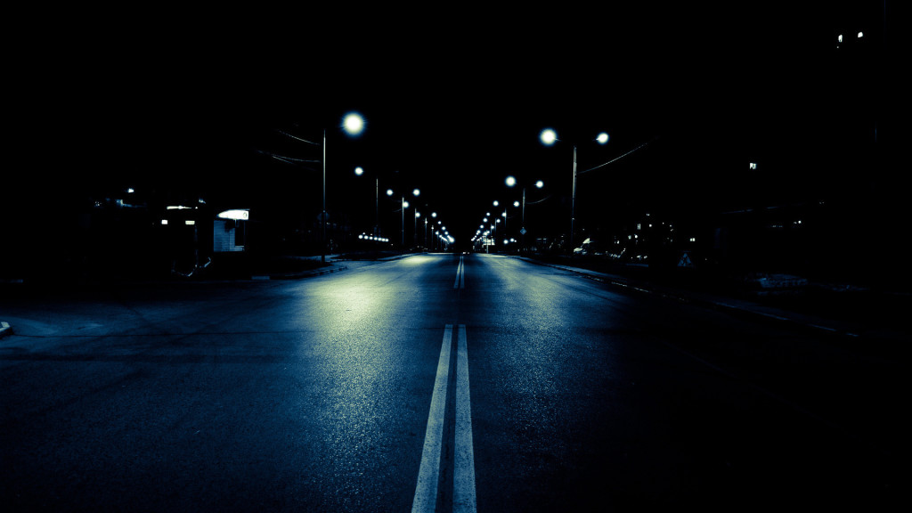 Download night the road lights hd wallpapers pictures night the road lights 1024x576 46 hd - Night light hd wallpaper ...