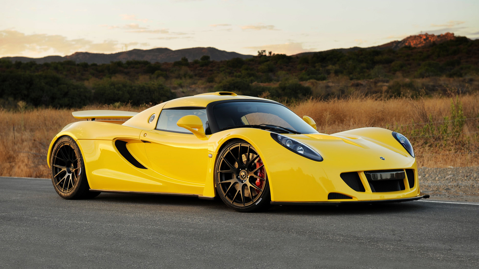 Hennessey Venom GT 2010 Wallpapers and HD Images 1920x1080