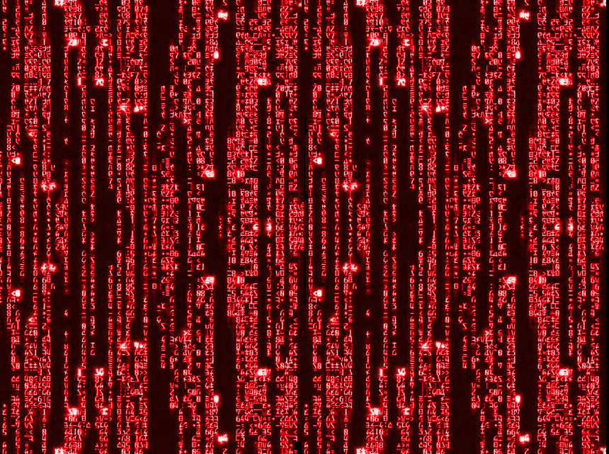 Matrix Binary Code Falling Wallpaper - WallpaperSafari