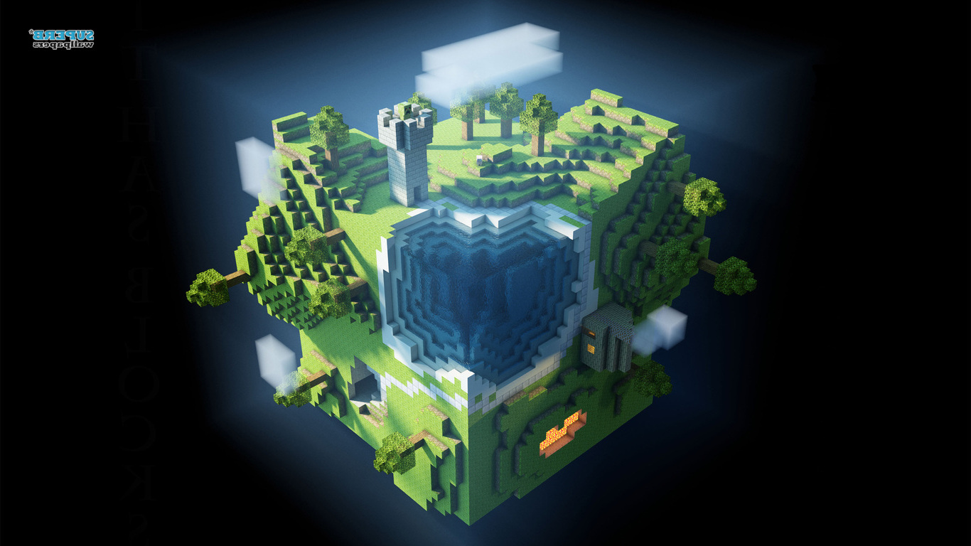 epic minecraft wallpapers 9   flipped Images And Wallpapers 1366x768