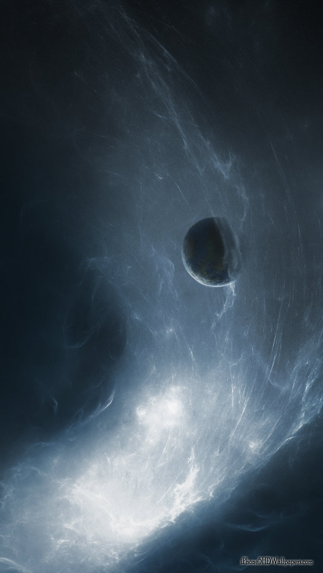 Free Download Iphone 5 Wallpapers 640x1136 Dark Space Stars