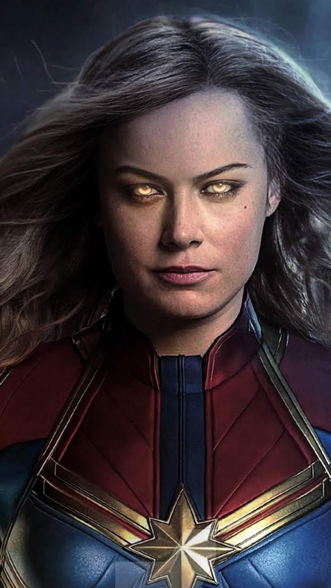 Captain Marvel Phone Wallpaper 2020 Phone Wallpaper HD 1080x1920