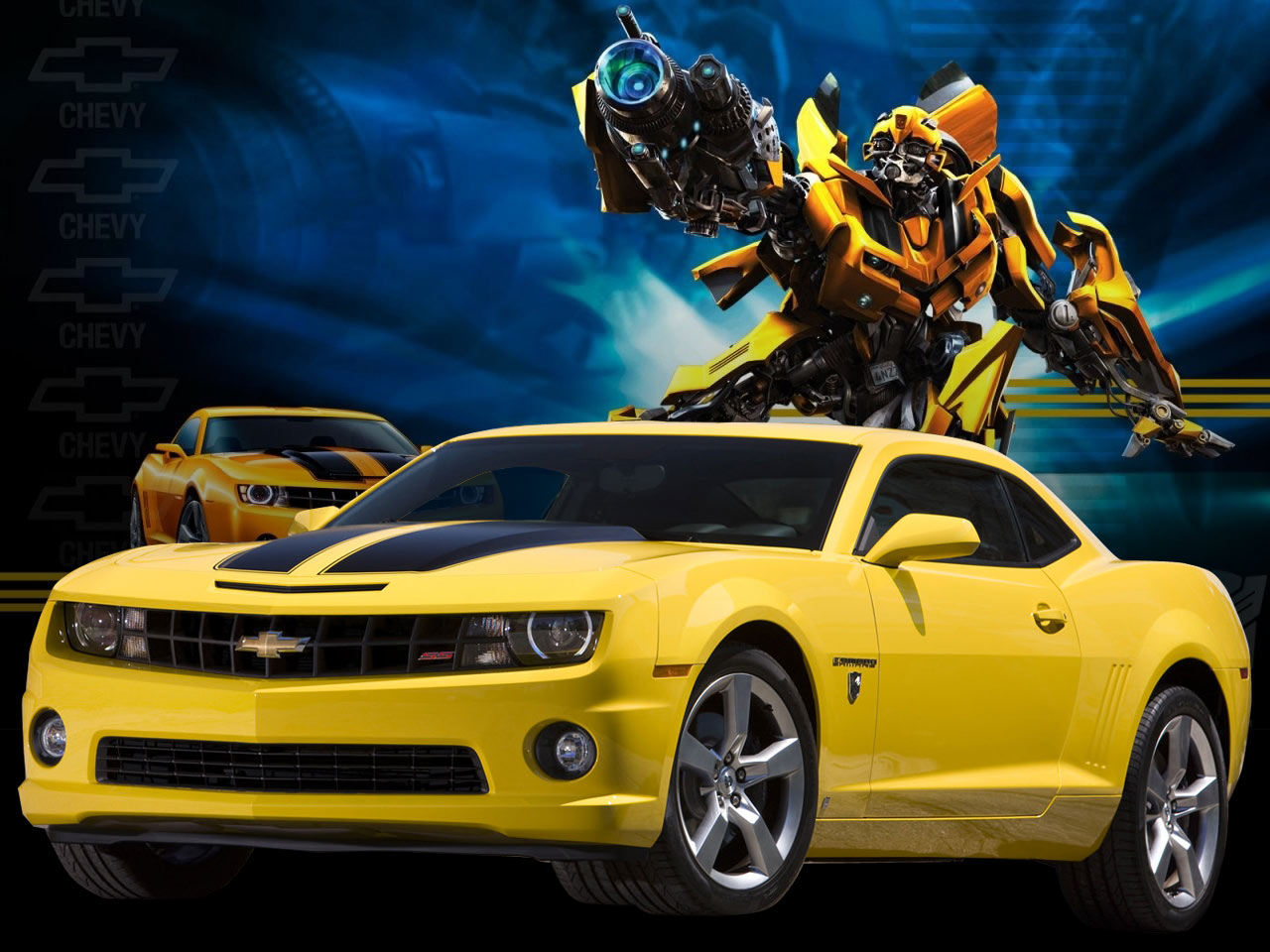 Chevy Camaro Transformers Wallpaper 6591 Hd Wallpapers in Cars 1280x960