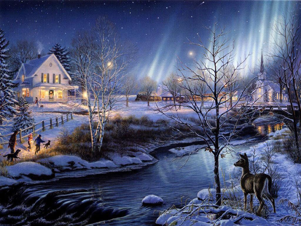 25 Beautiful Winter Wallpapers   Design Reviver   Web Design Blog 1024x768