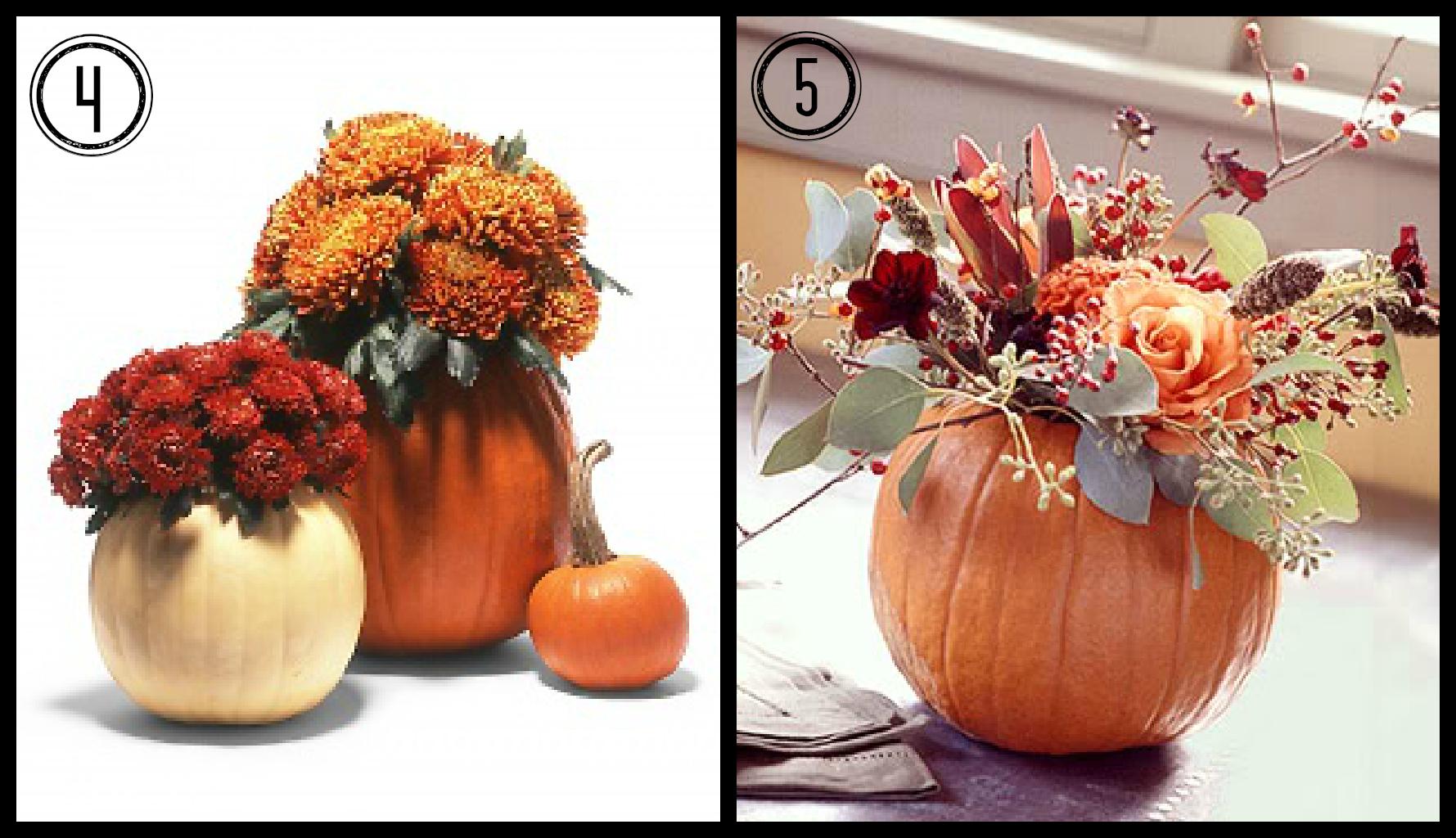 Fall Flowers And Pumpkins Fall flower pumpkin planters 1779x1024