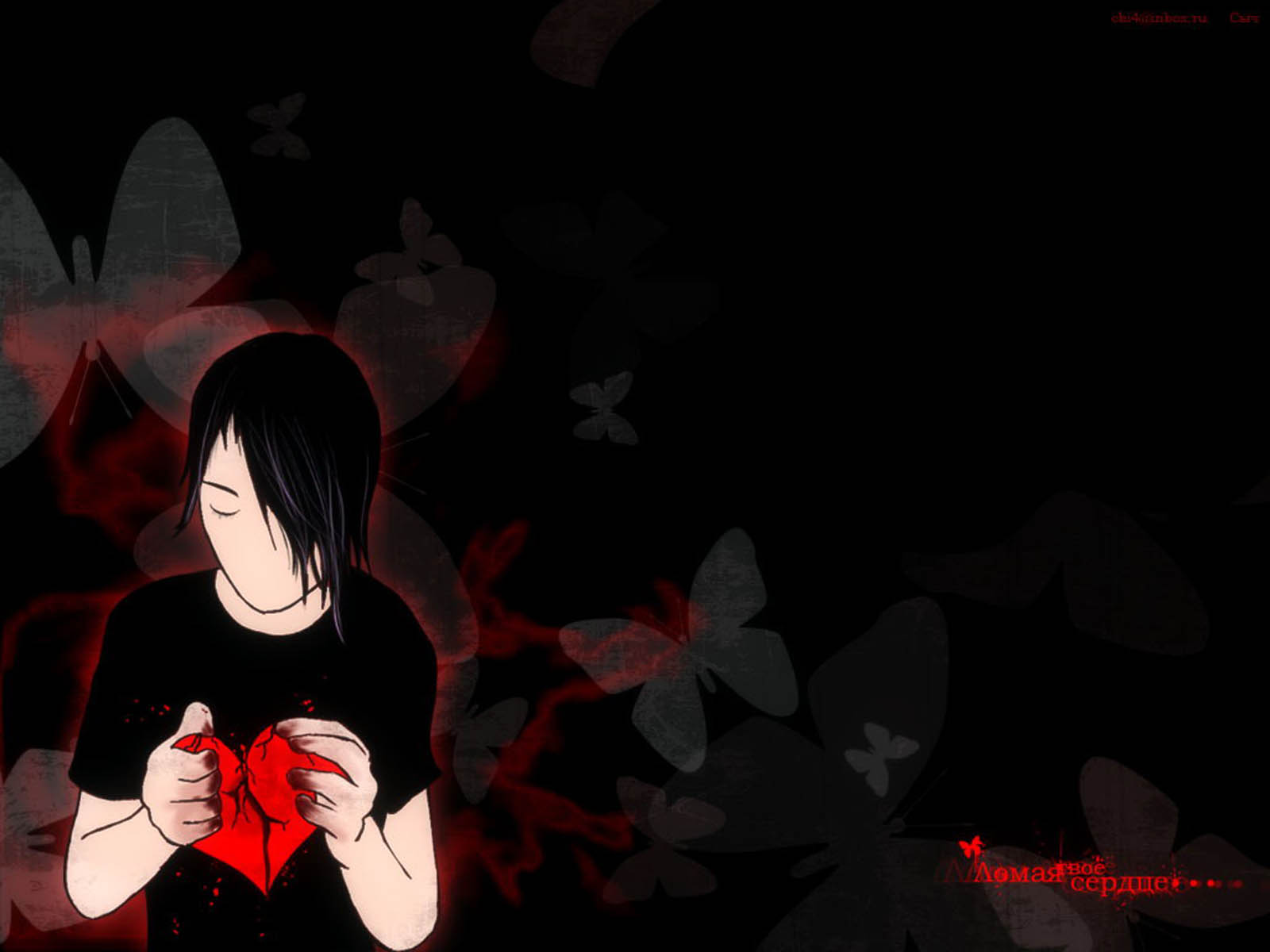Emo Heart Wallpaper Emo Wallpapers of Emo Boys and Girls 1600x1200