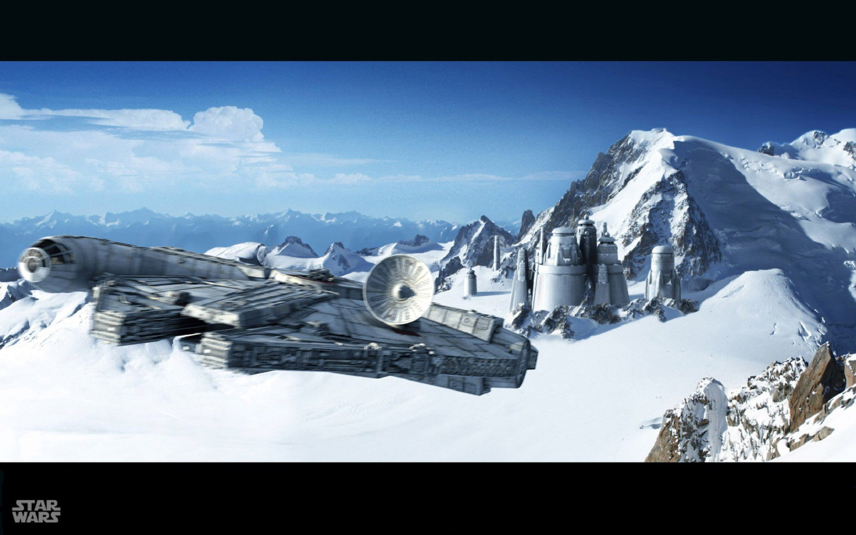 Free Download Star Wars Wallpaper 1680x1050 Star Wars Millennium