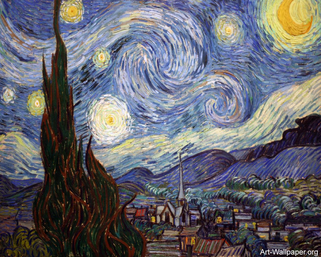 Vincent van Gogh Wallpaper 1280x1024