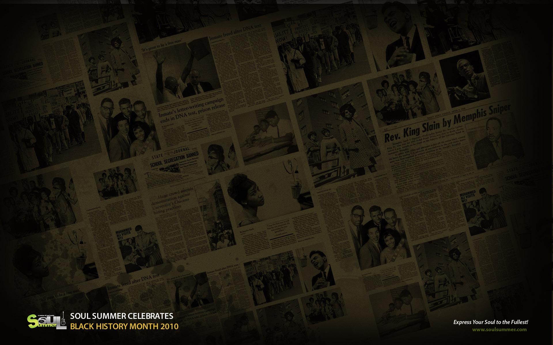 black history month desktop wallpaper wallpapersafari