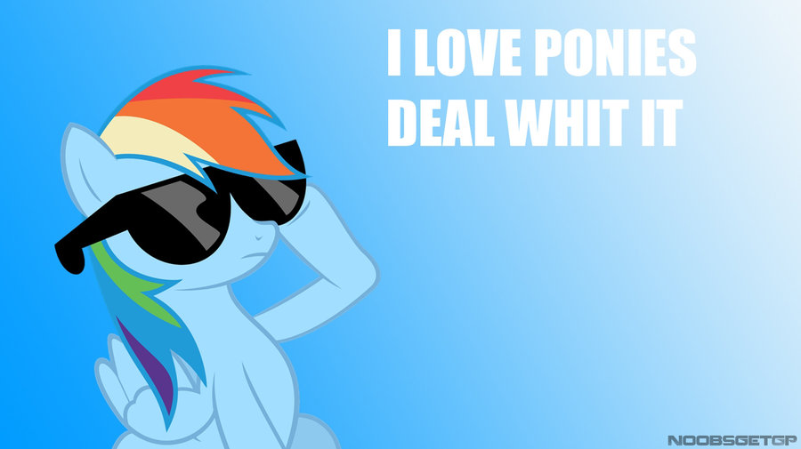 Deal whit it wallpaper of FB cover by NoobsGetGP 900x505