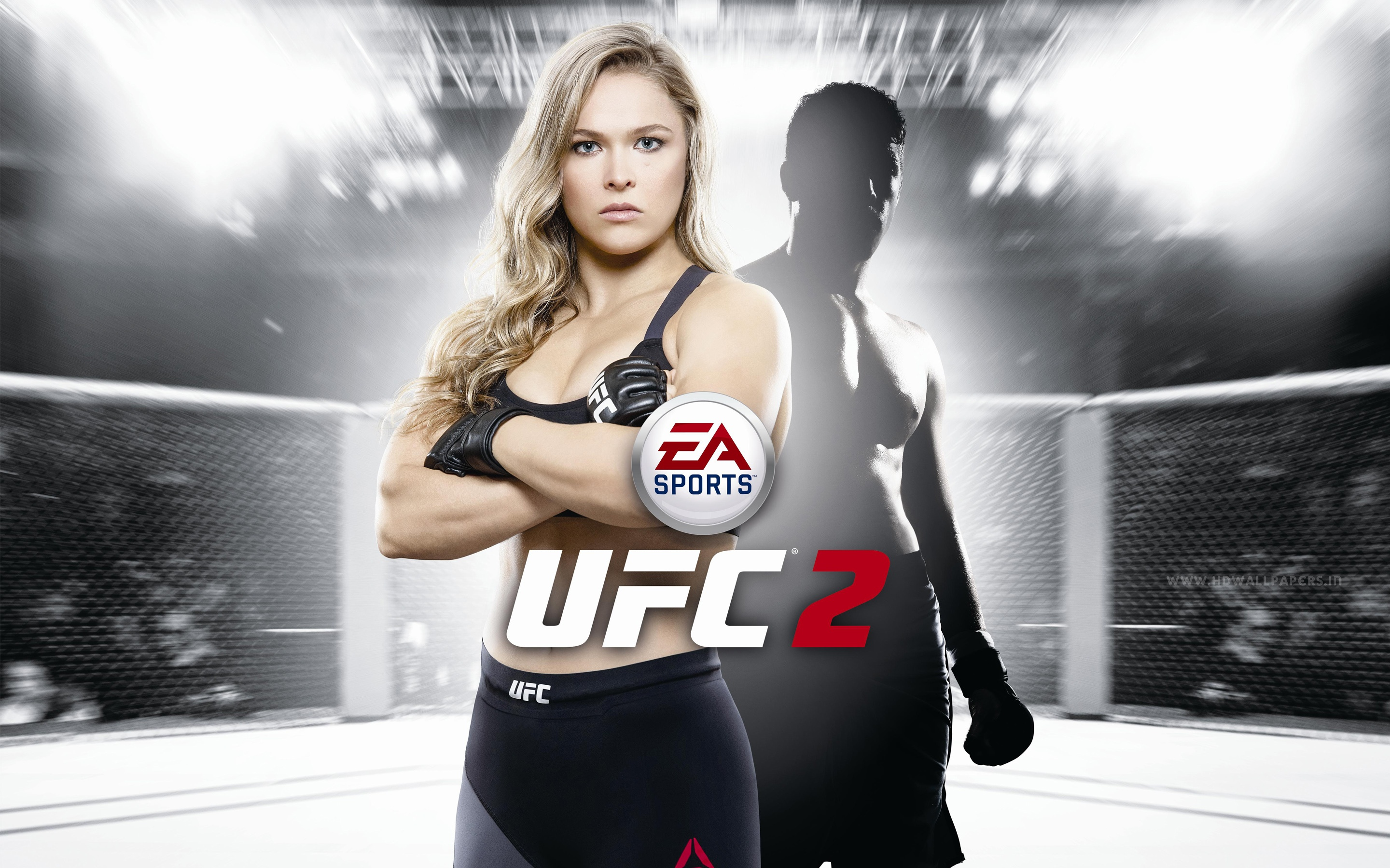 EA Sports UFC 2 Wallpapers in jpg format for download 2880x1800
