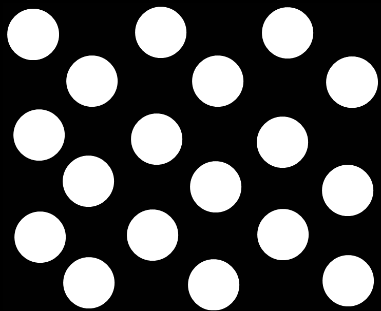 Black And White Large Dots Wallpaper | Black And White Large Dots ...