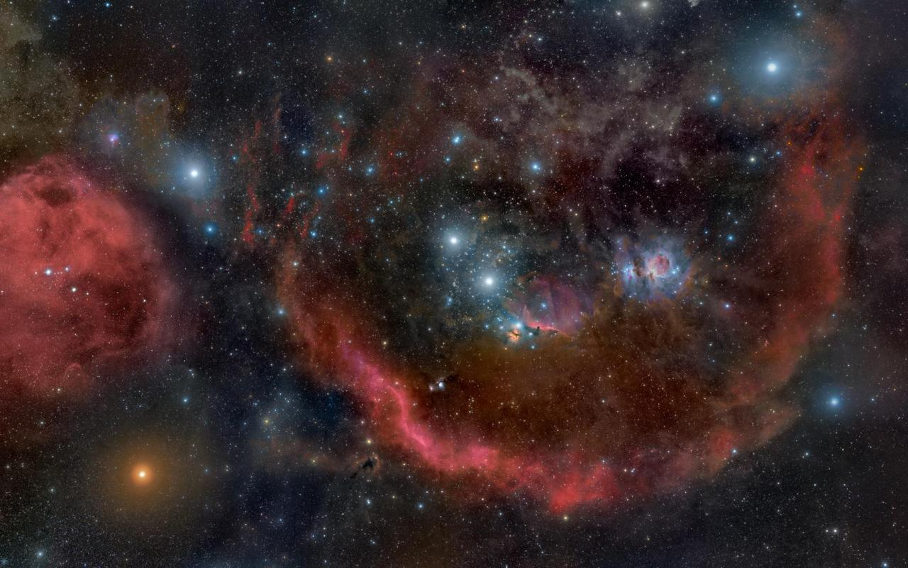 Orion Nebula Wallpaper HD - WallpaperSafari