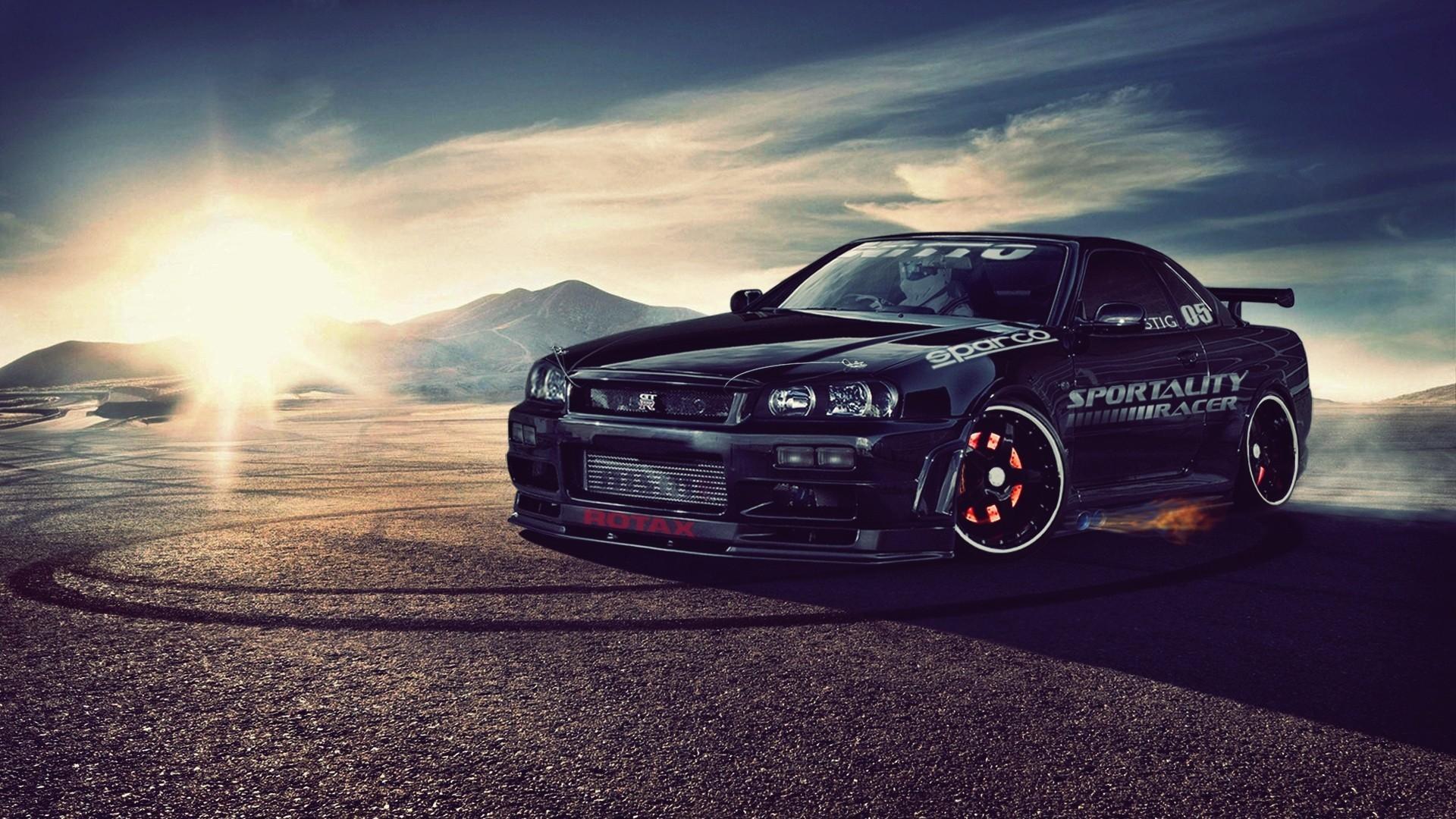 Free download Nissan skyline r34 gt r