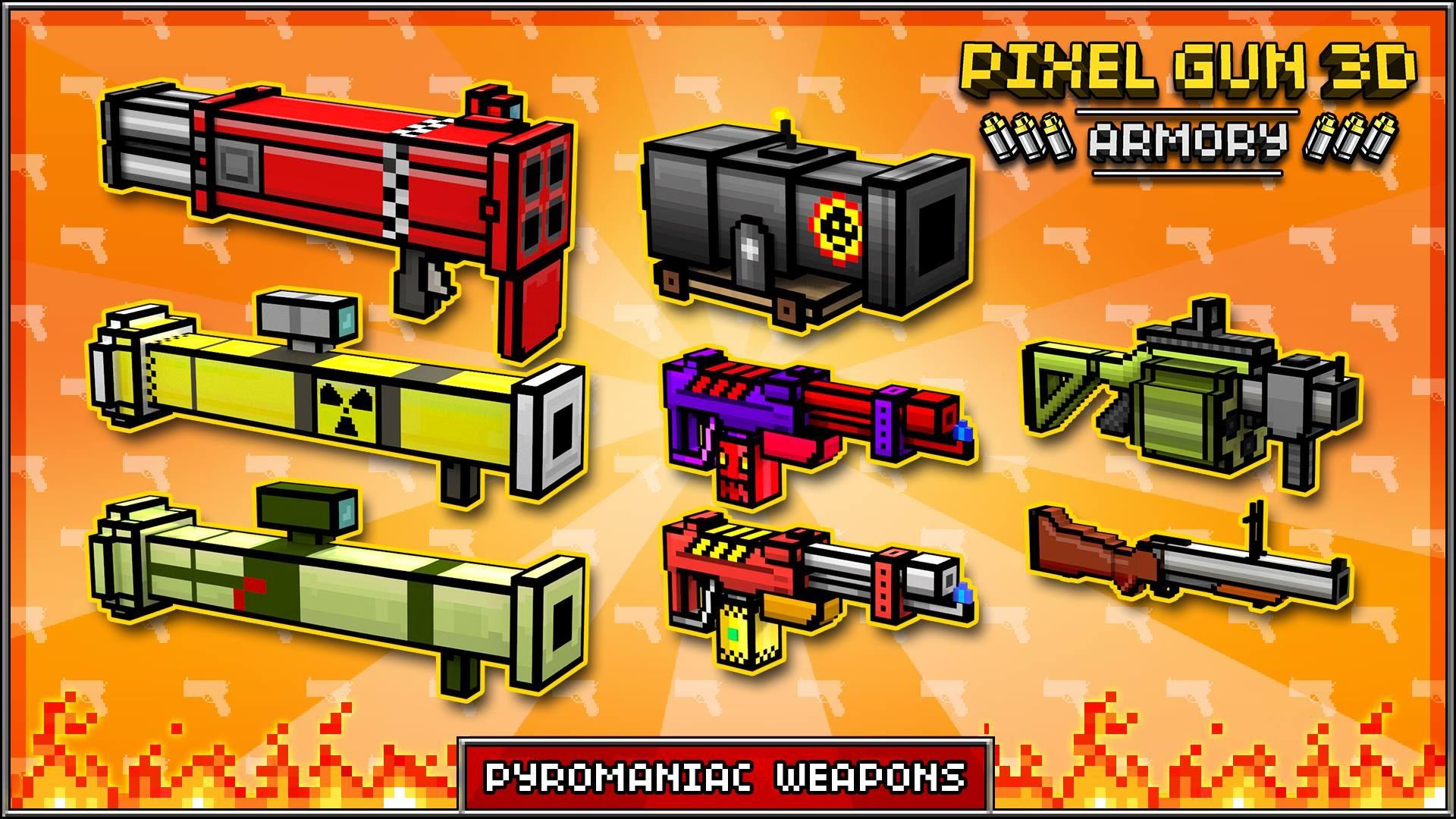 Pixel Gun 3d Wallpaper pixel gun 3d premium weapons   youtube 1920x1080