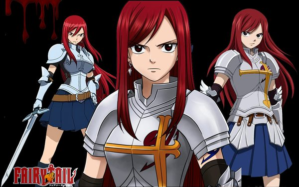 Fairy tail Erza wallpaper by Rebeccamines 600x375