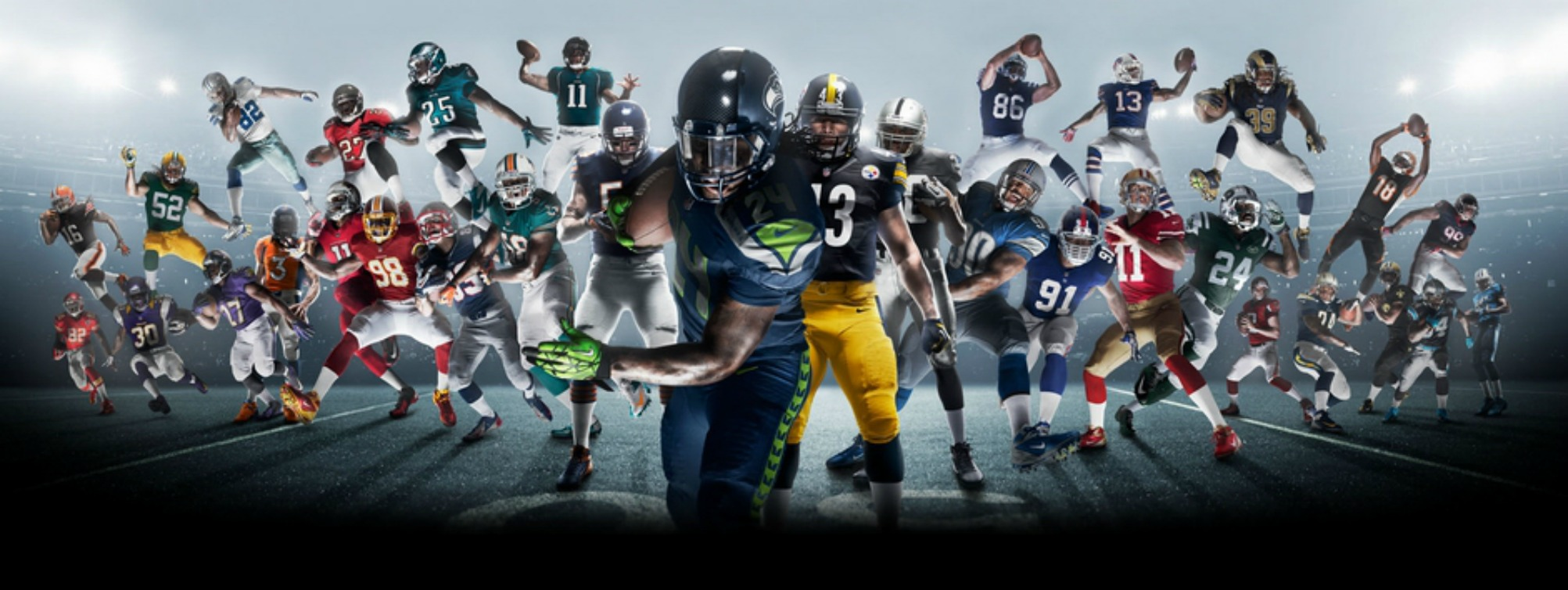 NFL HD Wallpapers 2005x754