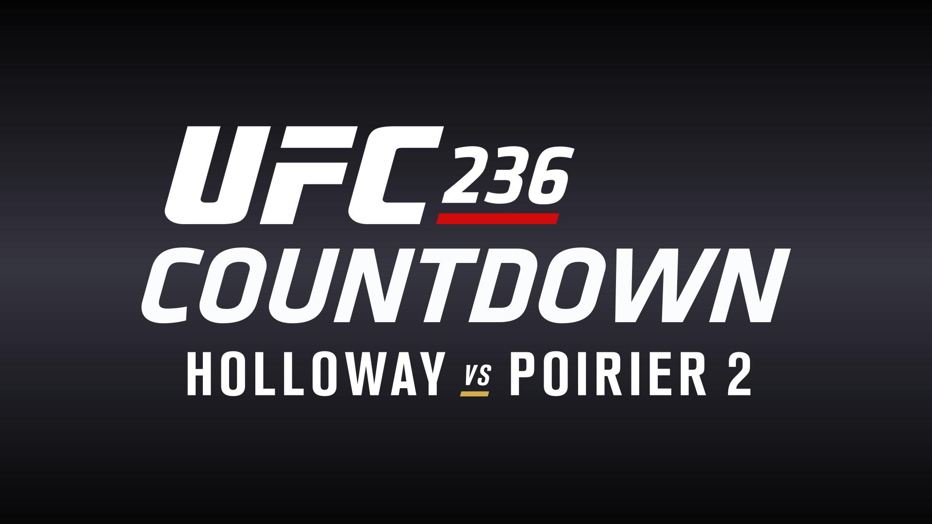 UFC 236 Countdown Full Episode UFC 1920x1080