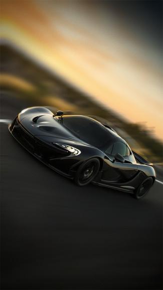McLaren P1 Wallpaper Black - WallpaperSafari