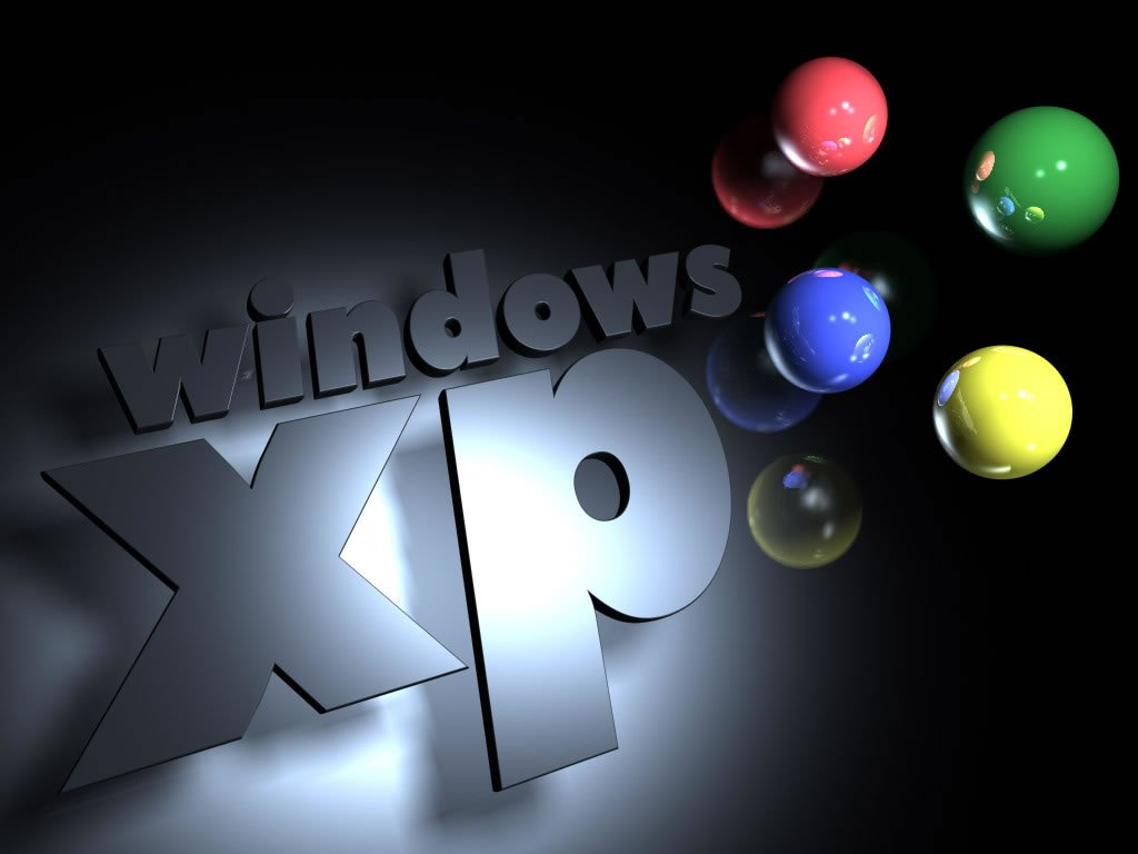 Awesome Window XP Wallpaper 3D 1024x768