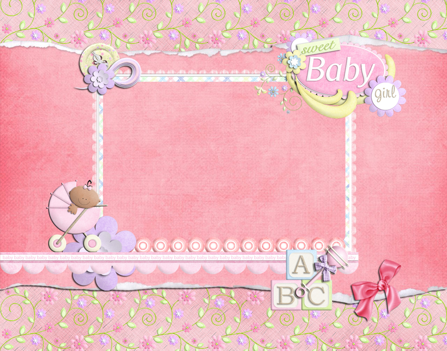 Download Cute Baby Pink Background Images 1752x1378 70 Baby