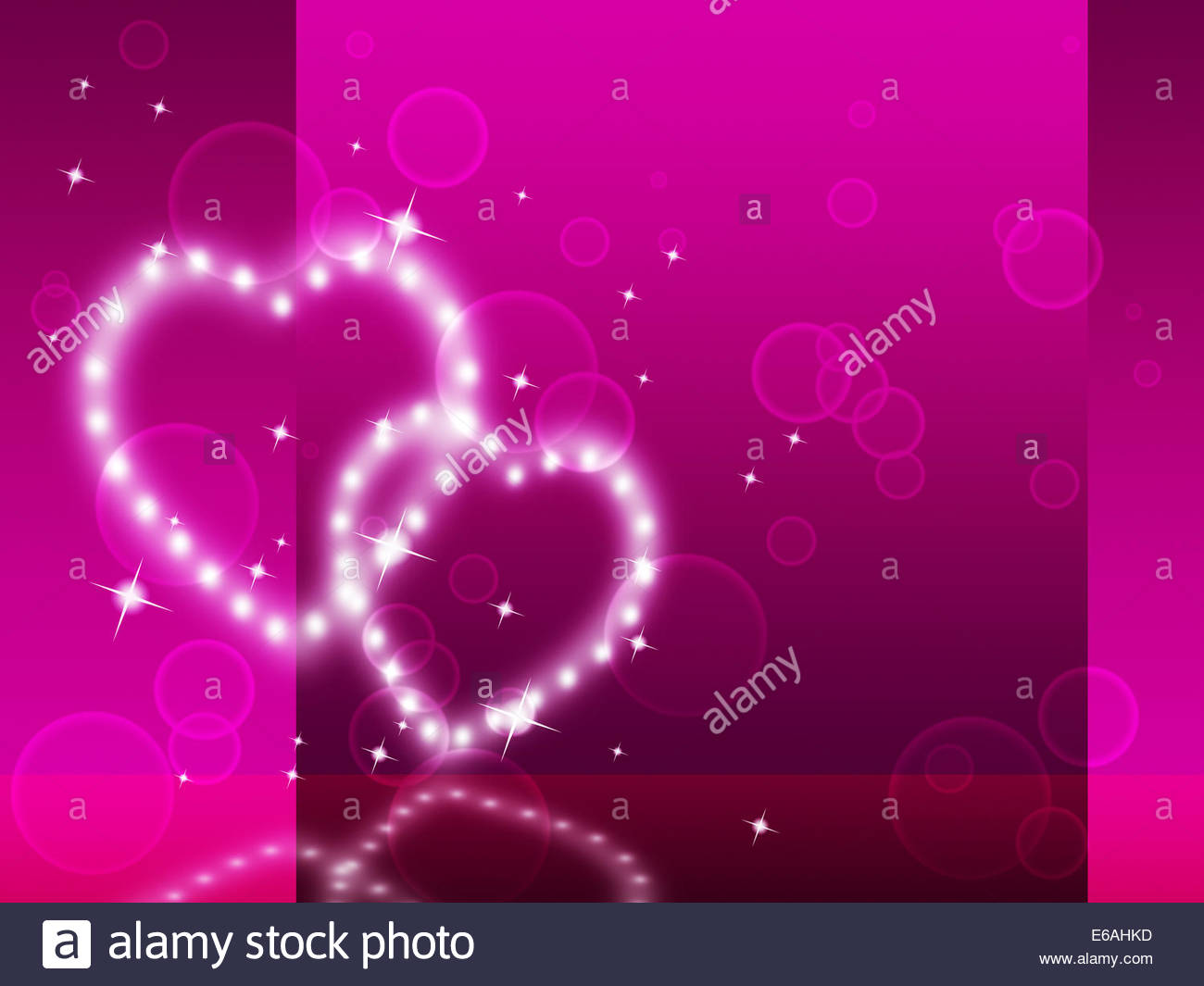 Pink Hearts Background Meaning Affection Desire And Glittering 1300x1065