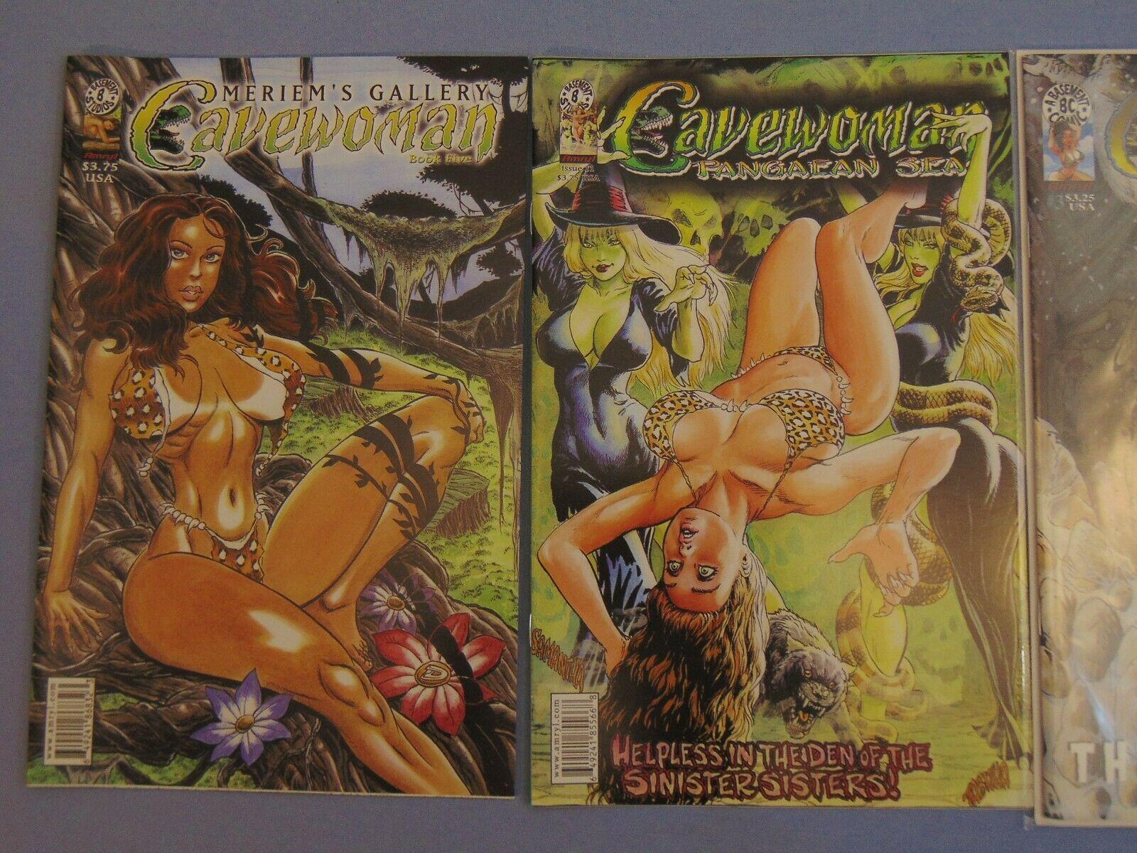 3 Cavewoman Meriem Gallery Basement Studios Amryl Pangaean Sea 1600x1200