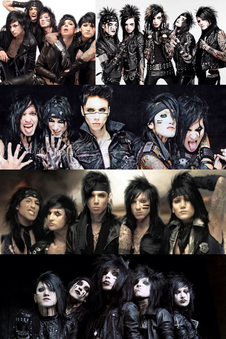 Black Veil Brides Collage 1 by Zelda1987 730x1095