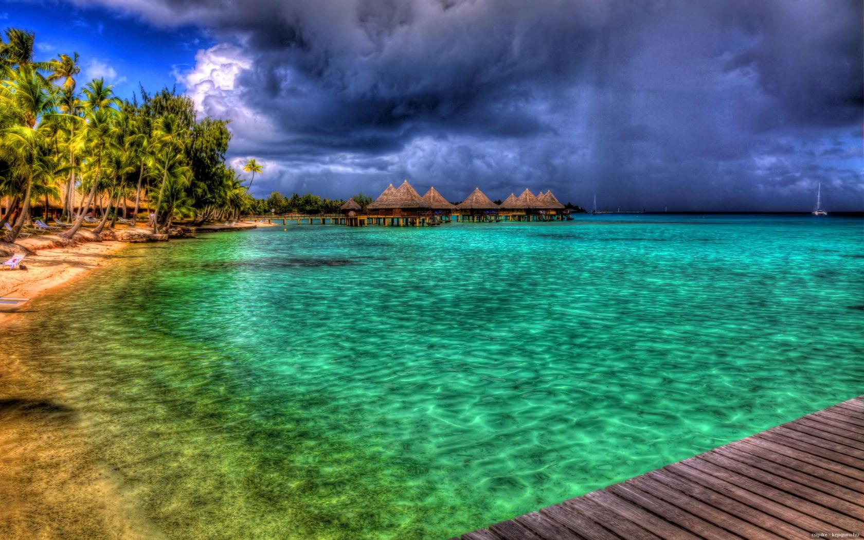 Bora bora   156709   High Quality and Resolution Wallpapers on 1680x1050