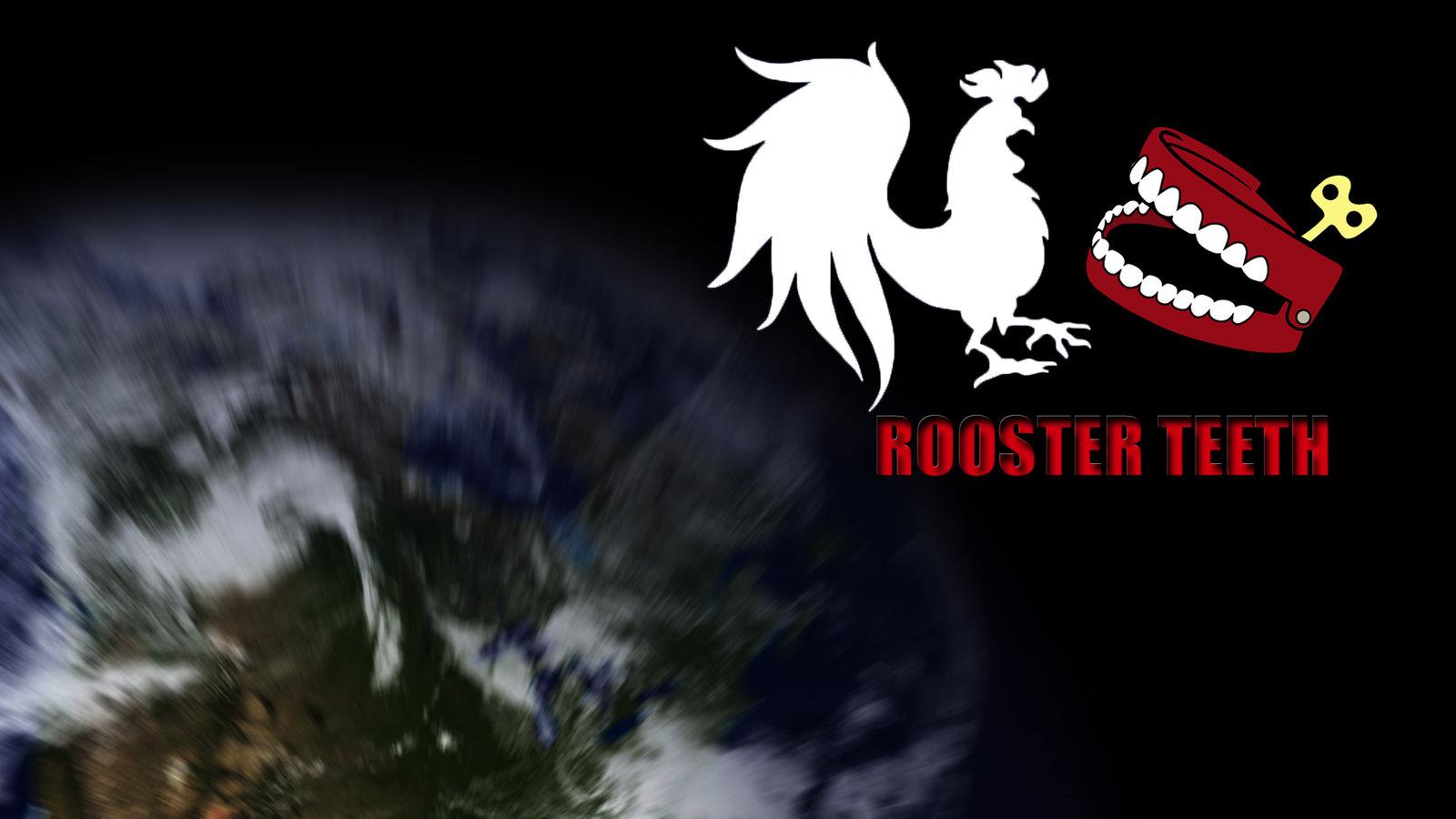 Rooster Teeth Logo Wallpaper Rooster teeth wallpaper by 1600x900