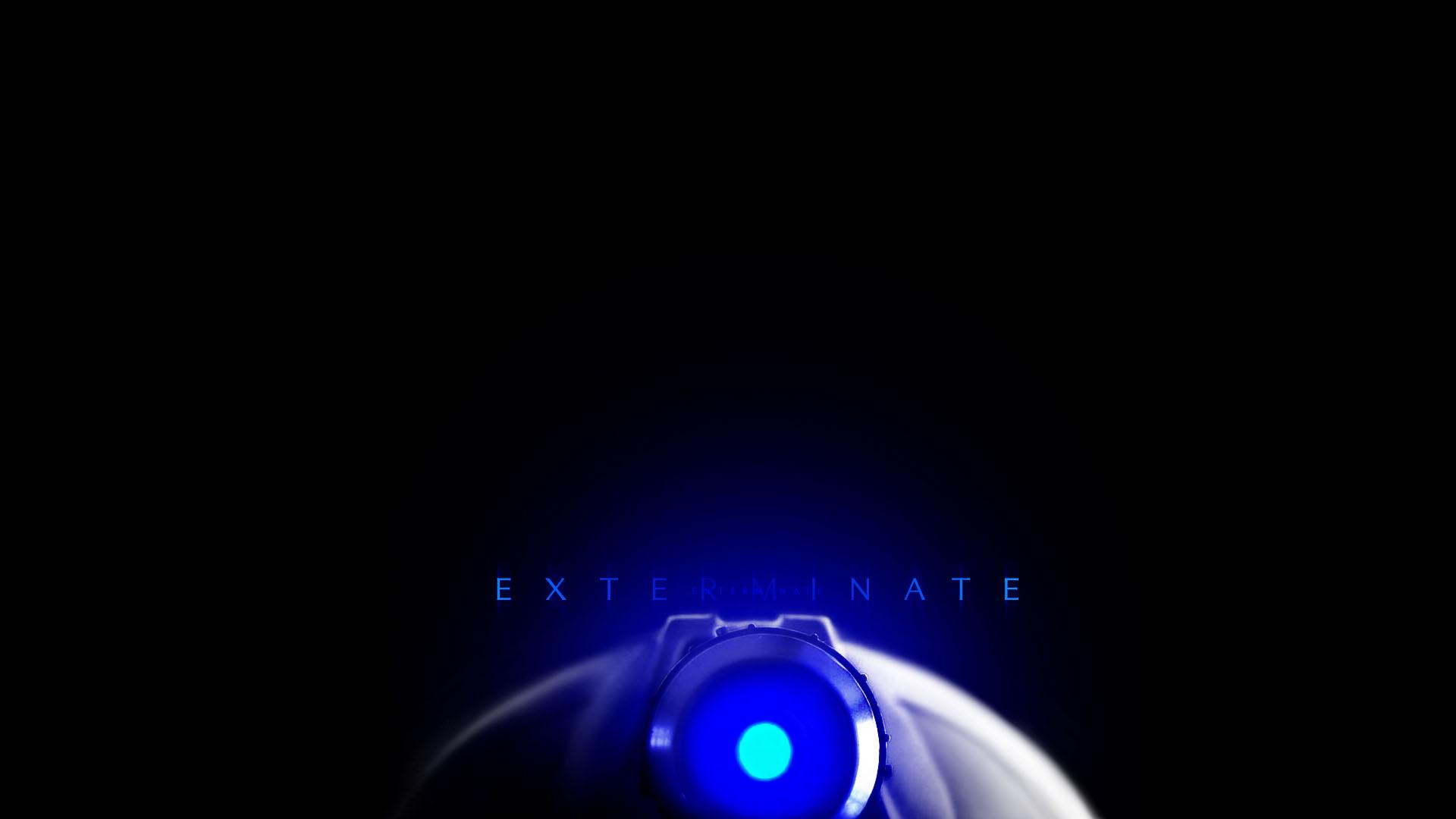Doctor Who Wallpaper Dalek Exterminate Doctor Who Desktop Wal...