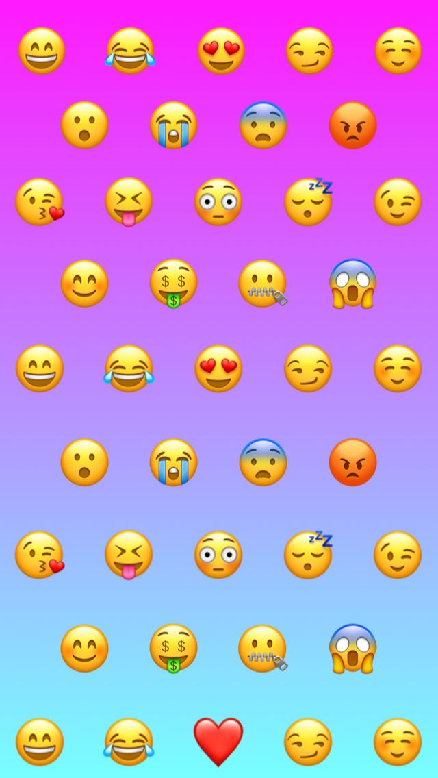 45+] Emoji iPhone Wallpaper on WallpaperSafari